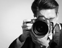 Photo of a male photographer